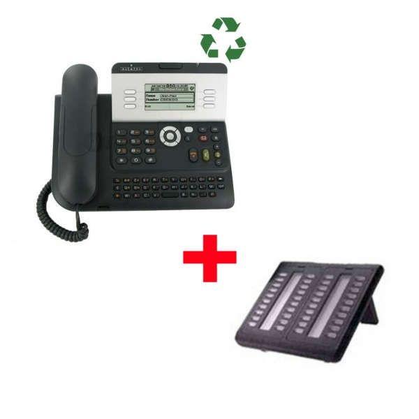 Alcatel 4029 Recondicionado mais módulo de 40 teclas