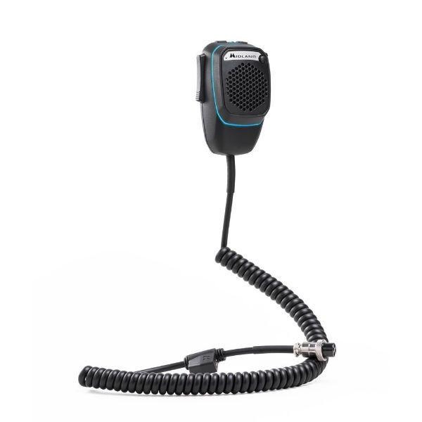 Midland Dual Mike - Microfone 6P
