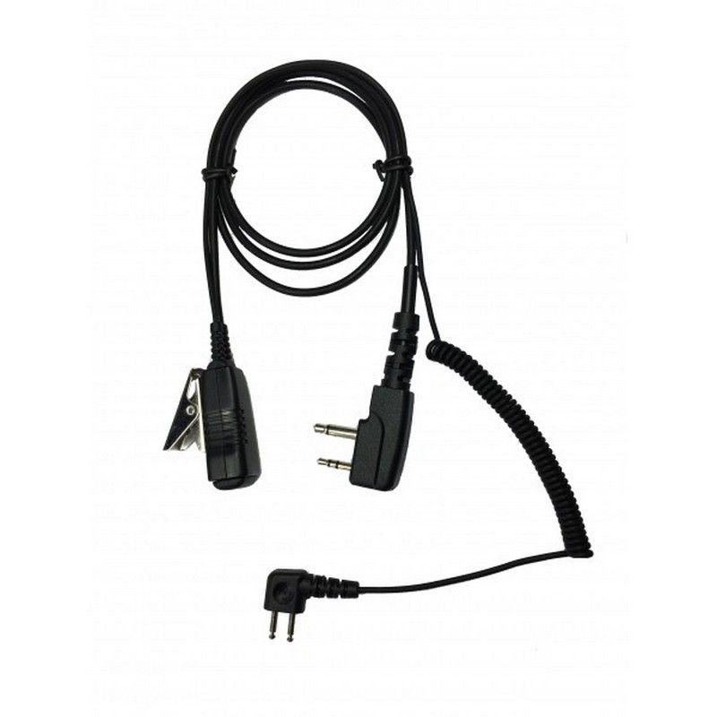 Adaptador de audio para Walkie Peltor J22