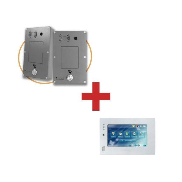 Intercomunicador Ciser Panphone C028 + Wall Monitor IP-SIP