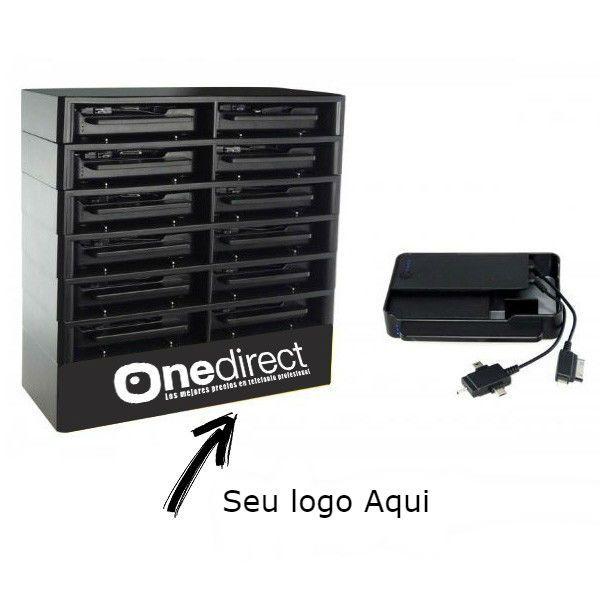 XLcharge – Estação de carga personalizável com 12 power bank