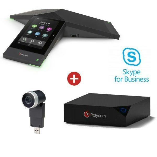 Realpresence 8500 Trio Collaboration Kit com EagleEye Mini -Skype for Business