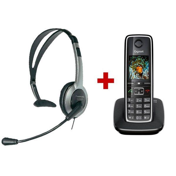 Gigaset C530 + Panasonic RP-TCA430