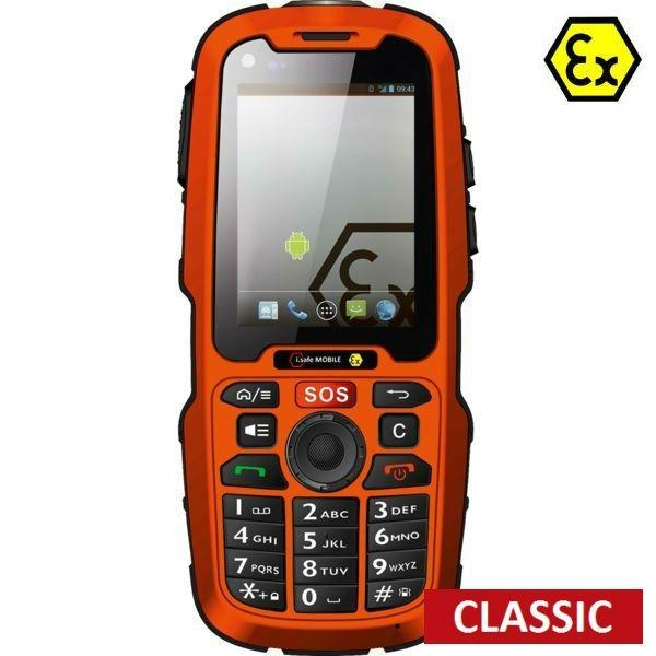 Telemóvel i.safe IS320.1 Atex sem câmara - Classic