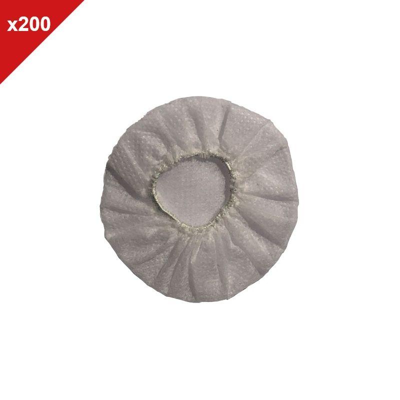 Almofadas descartáveis brancas - 200 uds