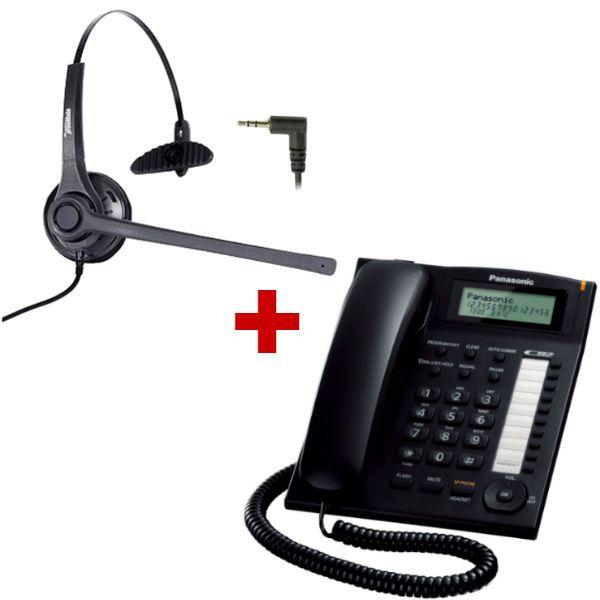 Panasonic KX-TS880 + auricular Freemate DH-037C