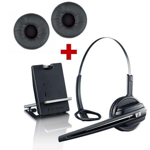 Sennheiser D10 Phone + Almofadas