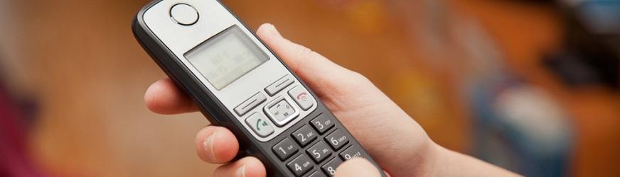 Telefones sem fios com atendedor de chamadas