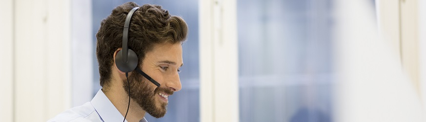 Auscultadores PC/VoIP para profissionais