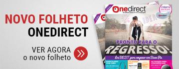 Novo folheto Onedirect
