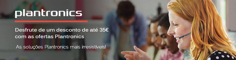 Desfrute de um desconto de até 35€ com as ofertas Plantronics
