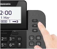 Telefone 2 em 1 Panasonic KX-TGF310