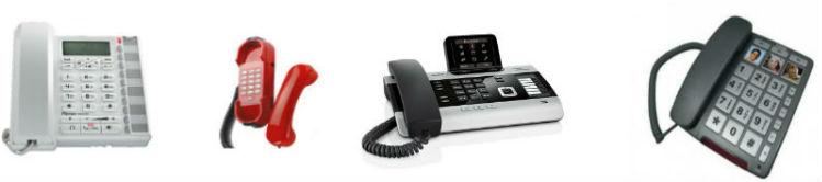 Telefones fixos e analógicos