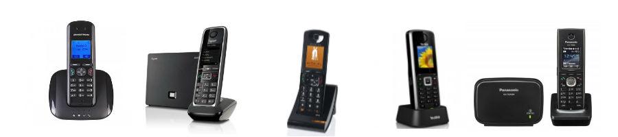 Telefone Base sem fio VoIP
