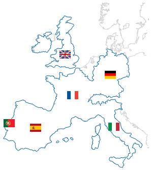 Onedirect présent dans 6 pays