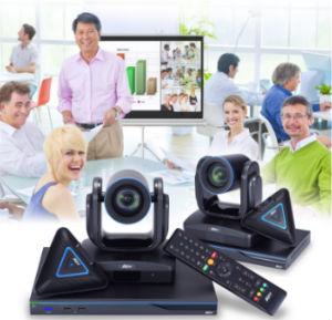 Videoconferência Full HD para salas medianas