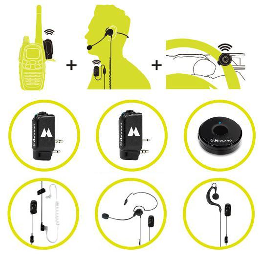 Midland acessórios Bluetooth WA